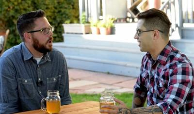 Preston Ulmer and Trax Henderson discuss theology. (YouTube) (Deseret Photo)