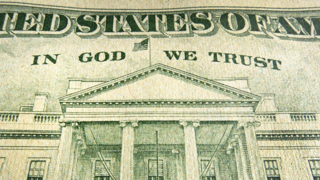 The motto In God We Trust has been on paper currency for 60 years. (Deseret Photo)