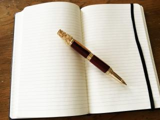 For Jason Wright, this pen is about a lot more than writing. It's about hope. (Deseret Photo)