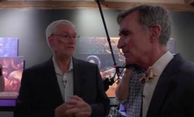 "Bill Nye and Ken Ham faced off over sin, morality and the ""basis for why people wear clothes."" (Deseret Photo)"
