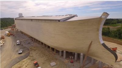 """An evolutionary biologist is among the critics who have taken aim at creationist leader Ken Ham's new Ark Encounter theme park, calling the Bible-themed attraction """"a hard-core creationist extravaganza replete with pseudoscience."""" (Deseret Photo)"""