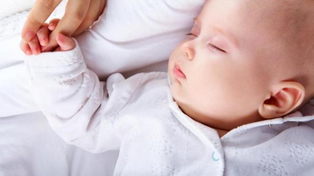 A study in the journal Pediatrics found most parents put their babies to sleep in unsafe ways that have been linked to sudden infant death. (Deseret Photo)
