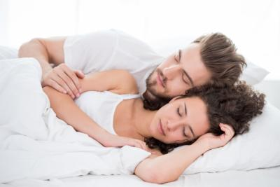 A new study has found that couples report higher relationship satisfaction when they get more sleep with their partner. (Deseret Photo)