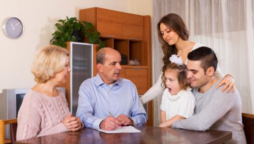 Before you unite your family under one roof, there are some topics you should discuss, including the permanency of the situation and who's going to pay what bills. (Deseret Photo)