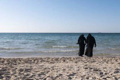 Recent efforts to keep the burqini off French beaches may be spawned by cultural anxiety, social scientists say. (Deseret Photo)