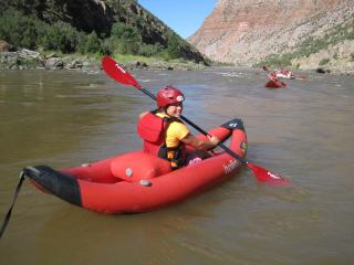 Amy Choate-Nielsen took off to Vernal for a four-day trip down the Green River from Colorado and back into the Beehive State. (Deseret Photo)