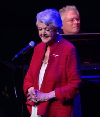 "Angela Lansbury, the voice of Mrs. Potts, sings ""Beauty and the Beast"" at Alice Tully Hall in New York City. (Deseret Photo)"