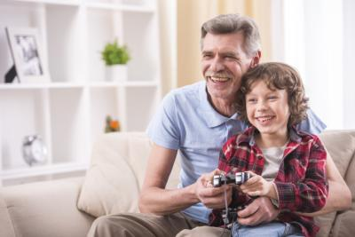 Playing video games with your children is a good thing. Don't believe me? Check it out. (Deseret Photo)