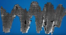 IMAGE: Archaeologists unlock secrets of ancient Israeli scroll, discover biblical text