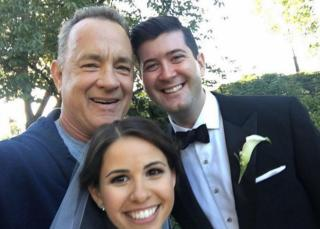 Tom Hanks is one of many celebrities who have dazzled couples by showing up uninvited on their big day. (Deseret Photo)