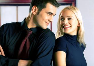 If he's fidgety and sweating, you've probably said one of these things that make husbands want to run. (Deseret Photo)
