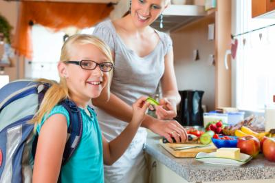 Erin Stewart writes that having a healthy snack for her daughters to eat right when they get home for school is key in helping them overcome the after-school funk. (Deseret Photo)