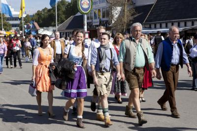 Brilliant German minds have given us music, scientific inventions, fairy tales, language and culture. When King Ludwig I married Therese, the reception was so fabulously over-the-top that we still celebrate their love today at Oktoberfest. Welkommen! (Deseret Photo)