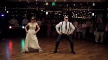 IMAGE: The world is going CRAZY over this jaw-dropping Daddy-Daughter wedding dance