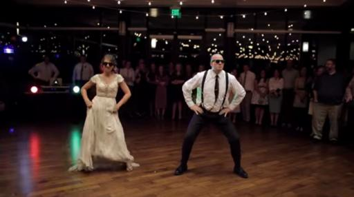 Mikayla Ellison and her Dad, Nathan Ellison, have entertained millions with a wedding dance video that is anything but traditional. (Deseret Photo)