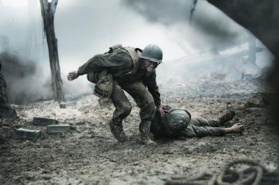 "Andrew Garfield stars in ""Hacksaw Ridge"" as Desmond Doss, who signed up to be a combat medic in WWII so he could obey God's commandment against killing and fulfill his duty to serve. (Deseret Photo)"