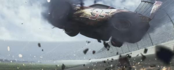 "Screenshot from ""Cars 3"" trailer. (Deseret Photo)"