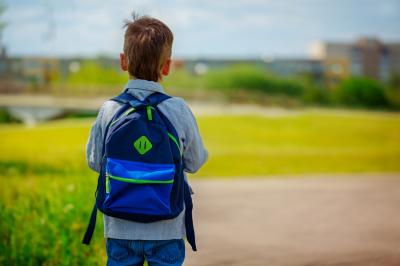 Arianne Brown writes about a lesson she learned when she saw a young boy walking to school by himself. She realized that she needed to teach her kids that it's OK to trust strangers sometimes. (Deseret Photo)