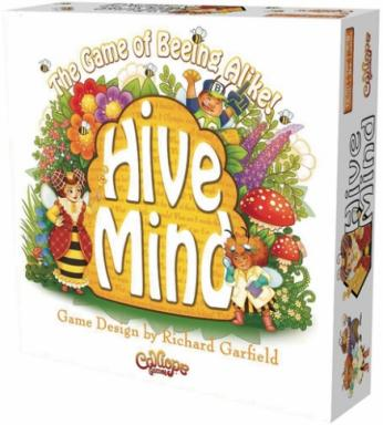 In Hive Mind, players are bees who take turns rolling the die, moving the Queen Bee along the garden track and asking and answering questions to assess their compatibility with the hive. (Deseret Photo)