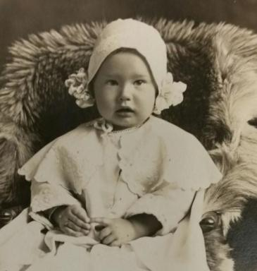 Homer Russell Luther as a baby. (Deseret Photo)
