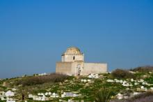 A shrine is surrounded by a cemetery in Meknes, Morocco. (Deseret Photo)