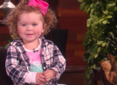 Sam Rogers, expert bottle flipper, melts hearts on the Ellen Show (Deseret Photo)