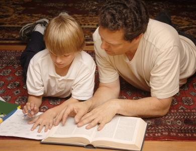 Good parenting means educating children. So, in order to be a good educator, every smart mommy has to educate herself first. (Deseret Photo)