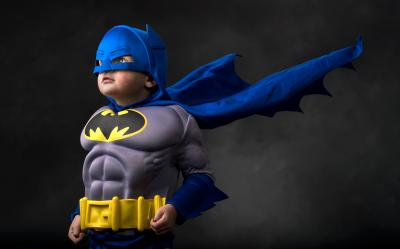 Little kids exposed to superheroes don't pick up on the altruistic storylines. They do, however, remember the aggression. (Deseret Photo)
