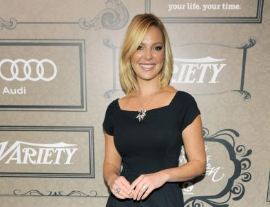 """FILE - In this Oct. 5, 2012 file photo, actress Katherine Heigl poses at Variety's 4th annual Power of Women event in Beverly Hills, Calif. Heigl will star as a CIA analyst in the new NBC series """"State of Affairs"""" also starring Alfre Woodard as the U.S. president. (Deseret Photo)"""