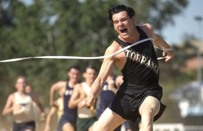 """Jack O'Connell  stars as Olympian and war hero Louis Zamperini in """"Unbroken"""", an epic drama that follows the incredible life of Zamperini who, along with two other crewmen, survived in a raft for 47 days after a near-fatal plane crash in WWII—only to be caught by the Japanese Navy and sent to a prisoner-of-war camp. (Deseret Photo)"""