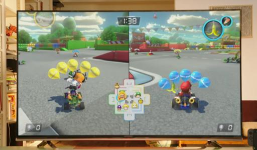 A clip of the new Mario Kart game. Nintendo just released its Super Bowl LI commercial for the Nintendo Switch (Deseret Photo)