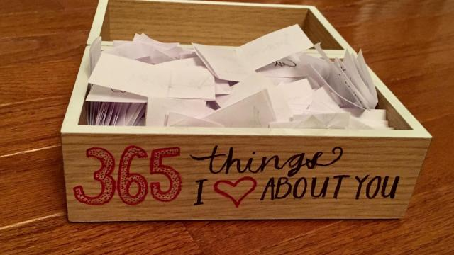 "Jason Wright's ""365 things"" experiment led to this box. (Deseret Photo)"