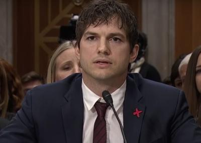 Ashton Kutcher addresses Congress (Deseret Photo)