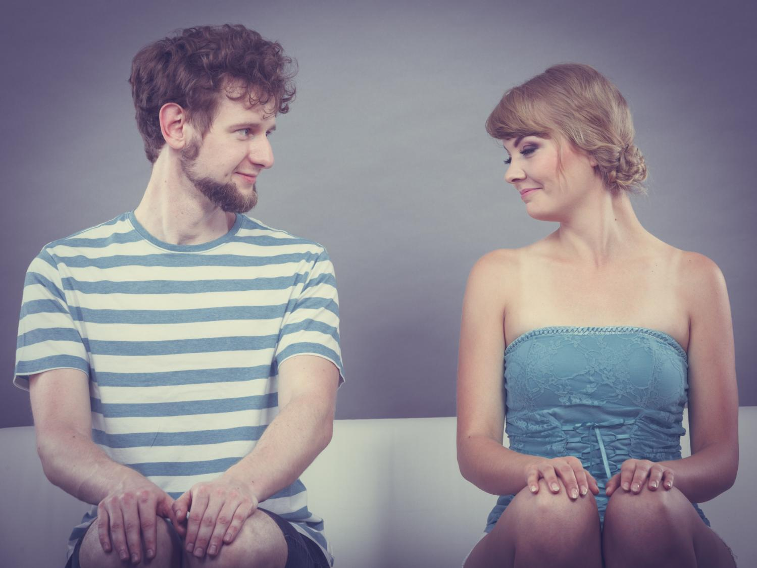 Signs of shyness in a man  32 Subconscious Signs A Man Likes