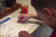 IMAGE: The Clean Cut: Boy cries over failing March Madness bracket