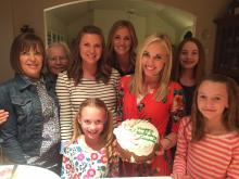 """Celebrating 32 years with """"girls only,"""" as my oldest son said. (Deseret Photo)"""