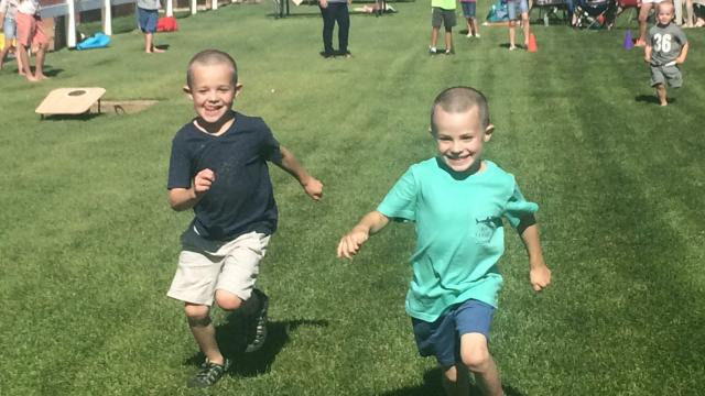 Some people enjoy running, such as Carmen Rasmussen Herbert's two boys. Carmen wishes she could say she felt the same. (Deseret Photo)