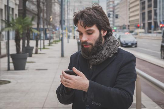 Are his replies sincere? How do you know if he's just using you? These five texts are sure signs that he's interested in you—the real you. (Deseret Photo)