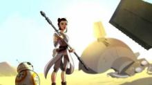 IMAGE: Disney launches new Star Wars series with focus on Princess Leia, Padme and Rey