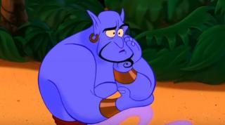 "Genie from the original ""Aladdin"" animated film. (Deseret Photo)"