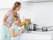 Teach your kids fun, creativity and organization in the kitchen