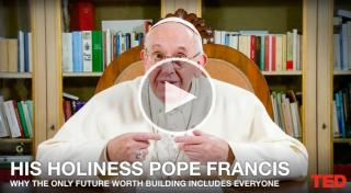You don't get a lot of opportunities to hear Pope Francis speak. But that changed on Tuesday, as Chris Anderson, the head of TED, tweeted out a Ted Talk from Pope Francis. (Deseret Photo)
