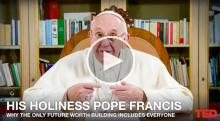 IMAGE: Pope Francis just gave a surprise TED Talk, calls for a 'revolution'