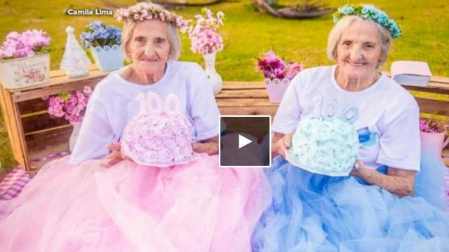 A pair of twin sisters in Brazil just celebrated their 100th birthday, and they want the world to know it. The twins plan to celebrate their 100th birthday on May 20 with their large family. (Deseret Photo)