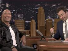 Dwayne Johnson opens up to Jimmy Fallon about potential 2020 presidential run