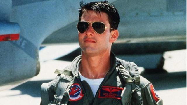 "Tom Cruise told the Australian television program ""Sunrise"" this week that ""Top Gun 2"" ""is definitely happening."" Cruise shot to stardom as Lt. Pete ""Maverick"" Mitchell in ""Top Gun"" in 1986. (Deseret Photo)"