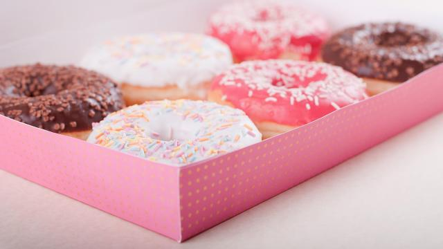 On Thursday, The Los Angeles Times unveiled a deep investigation into why so many donut boxes are pink and found that, simply, it's a regional thing. (Deseret Photo)