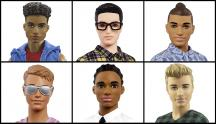 IMAGE: The newest line of Ken dolls come with 'dad-bods,' and 'man-buns'