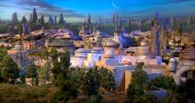 IMAGE: Disney unveils first photos and video of Star Wars park