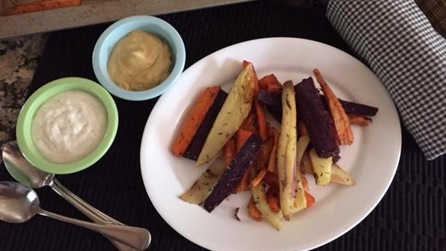 Serve sweet potatoes with small bowls of condiments. (Deseret Photo)